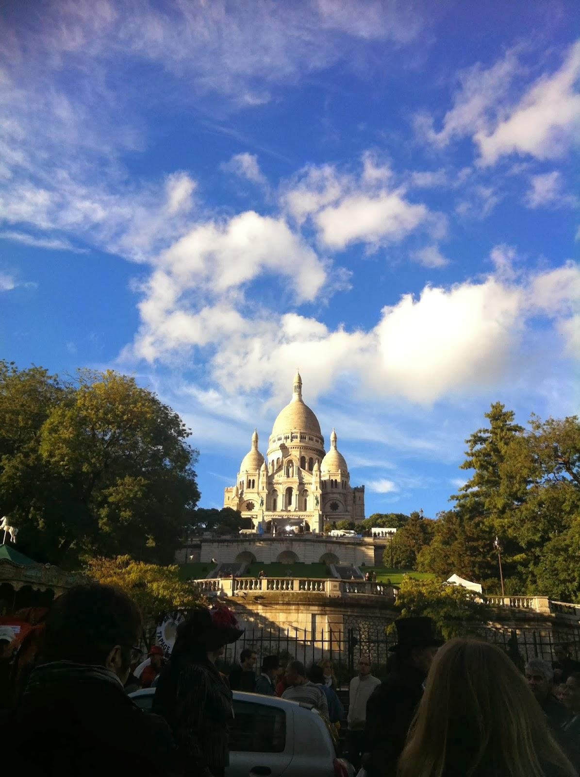 Basílica de Sacre Coeur en Paris