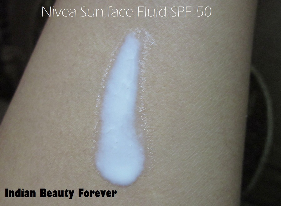 Nivea Sun Fluid sunscreen with SPF 50 Review