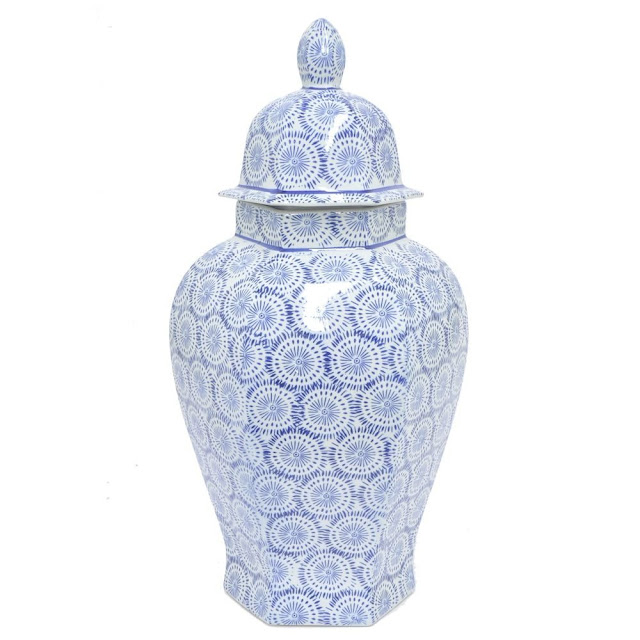 cheap blue and white jars, ginger jars, clearance price