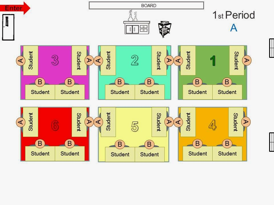 group seating chart template - Classroom Seating Chart Templates