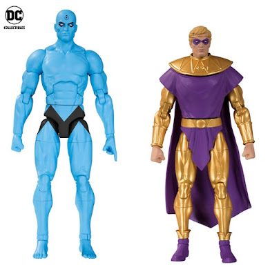 Doomsday Clock Watchmen Action Figure 2 Pack by DC Collectibles - Dr. Manhattan & Ozymandias