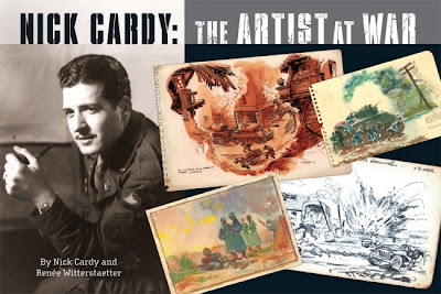 Book Review - Nick Cardy: The Artist At War by Nick Cardy and Renee Witterstaetter Cover