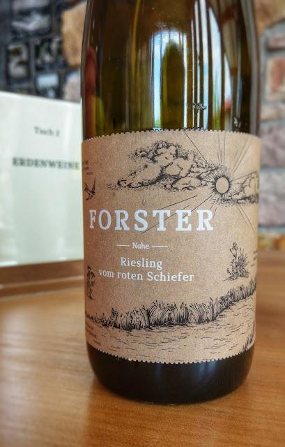 Riesling vom Weingut Forster an der Nahe