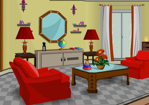 KnfGame Gorgeous Living Room Escape Walkththrough