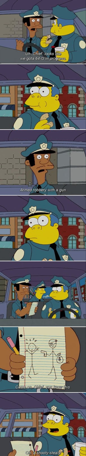 armed robbery chief Wiggum