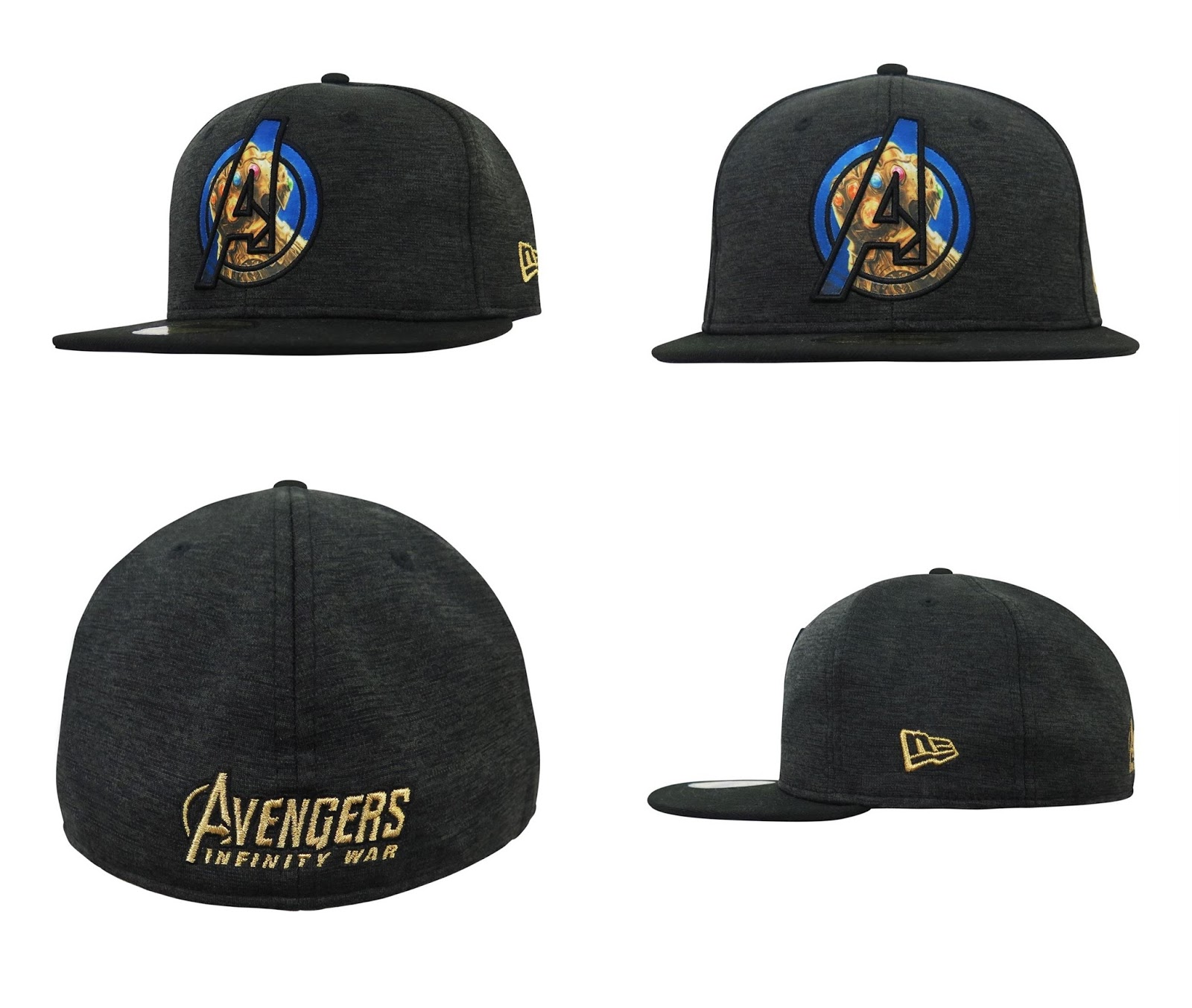 6d5739fe0d6 Avengers  Infinity War 59Fifty Fitted Hat Collection by New Era Cap x Marvel