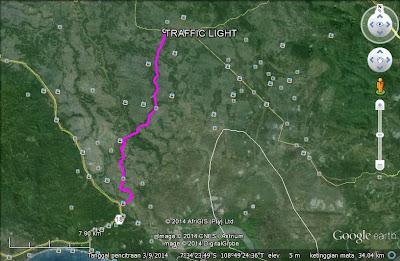 Akses Jalan Menuju ke Guci-Tegal