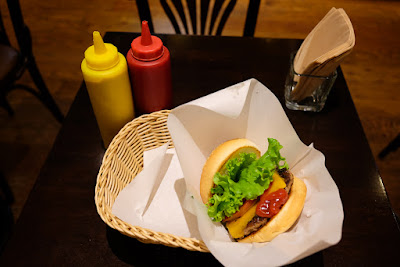 Avocado Burger at Freshness Burger, Asakusabashi Branch, Taito ward, Tokyo.