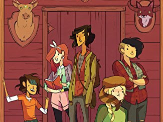 REVIEW - Lumberjanes #1 (Beware the Kitten Holy) by Stevenson, Ellis, Watters & Allen