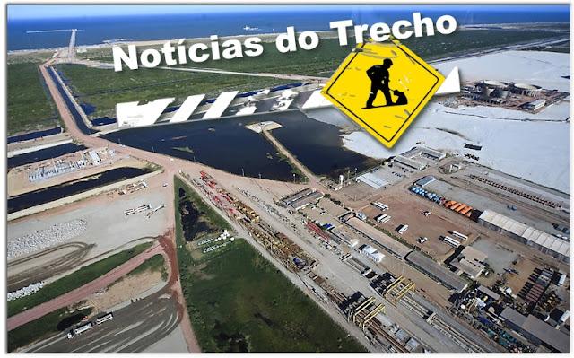 Resultado de imagem para Porto do Açu NOTICIAS TRECHO