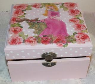 pudełko dla księżniczki