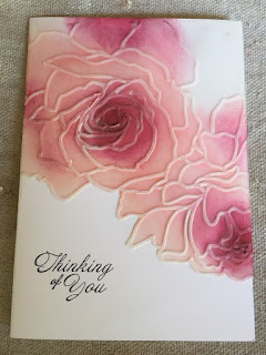 Vellum embossed card and sponged zena kennedy independent stampin up demonstrator