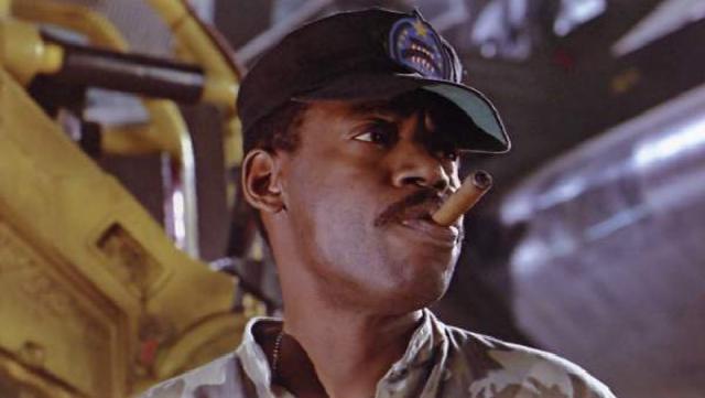 Al Matthews en su papel del sargento Apone en 'Aliens: El regreso'
