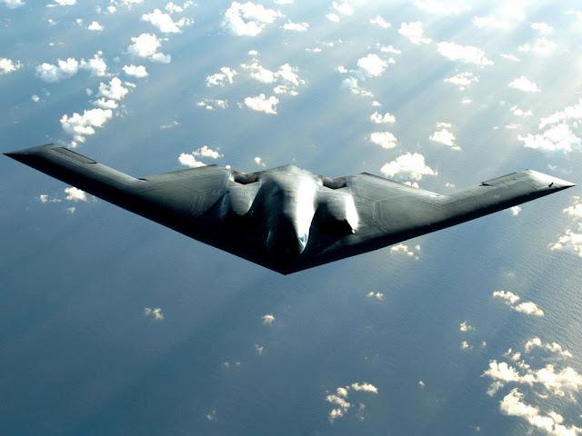Northrop Grumman B-2 Bomber Inflight