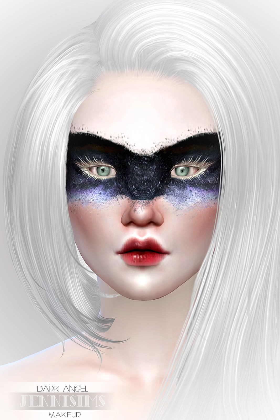 Jennisims: Downloads Sims 4:Makeup EyeShadow DarkAngel (5