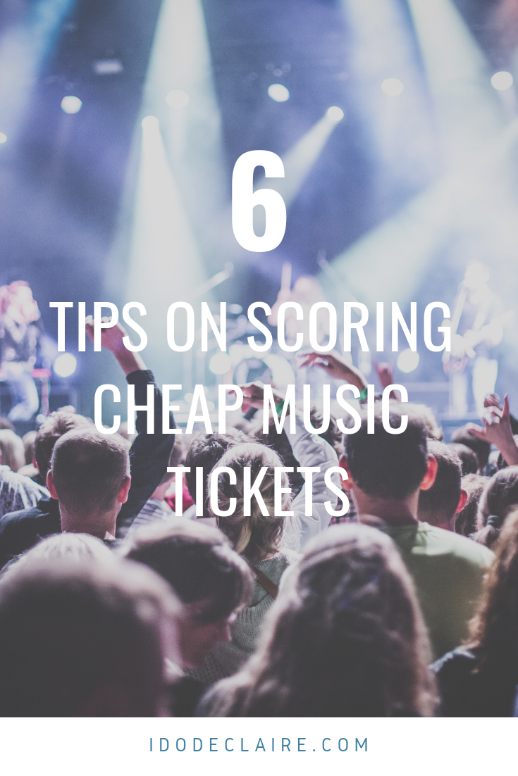 Tips on Scoring Cheap Music Tickets