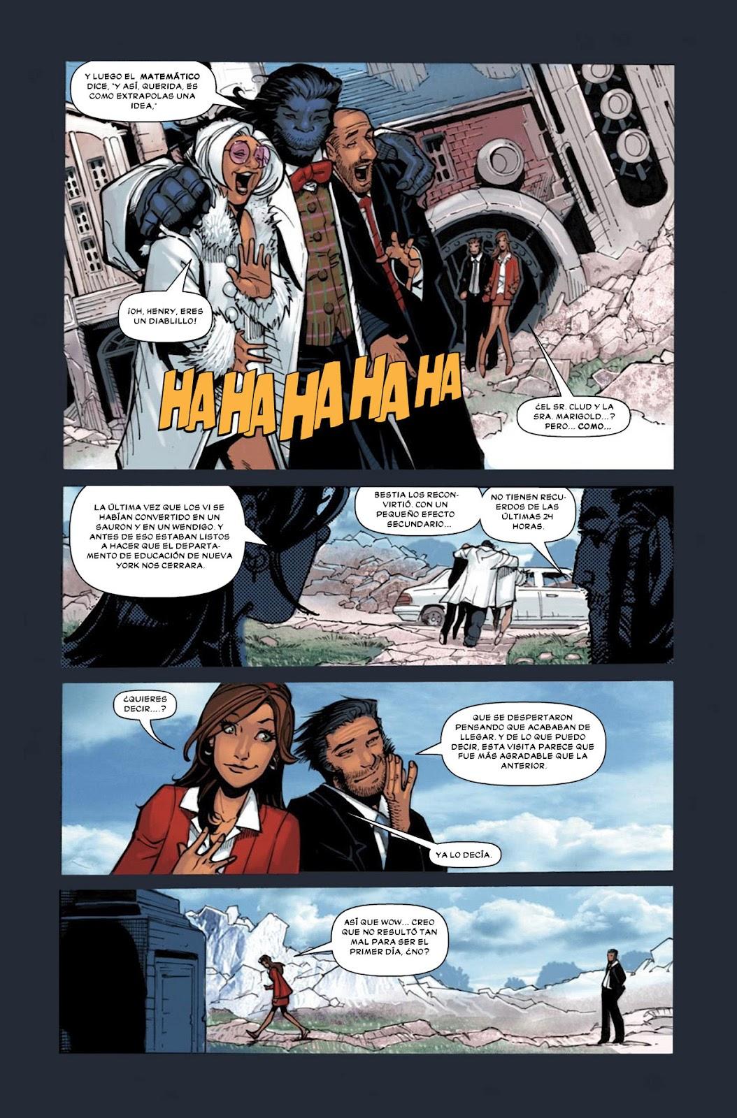 COMIC BOOK FAN AND LOVER: WOLVERINE Y LOS X-MEN # 3 – MARVEL COMICS