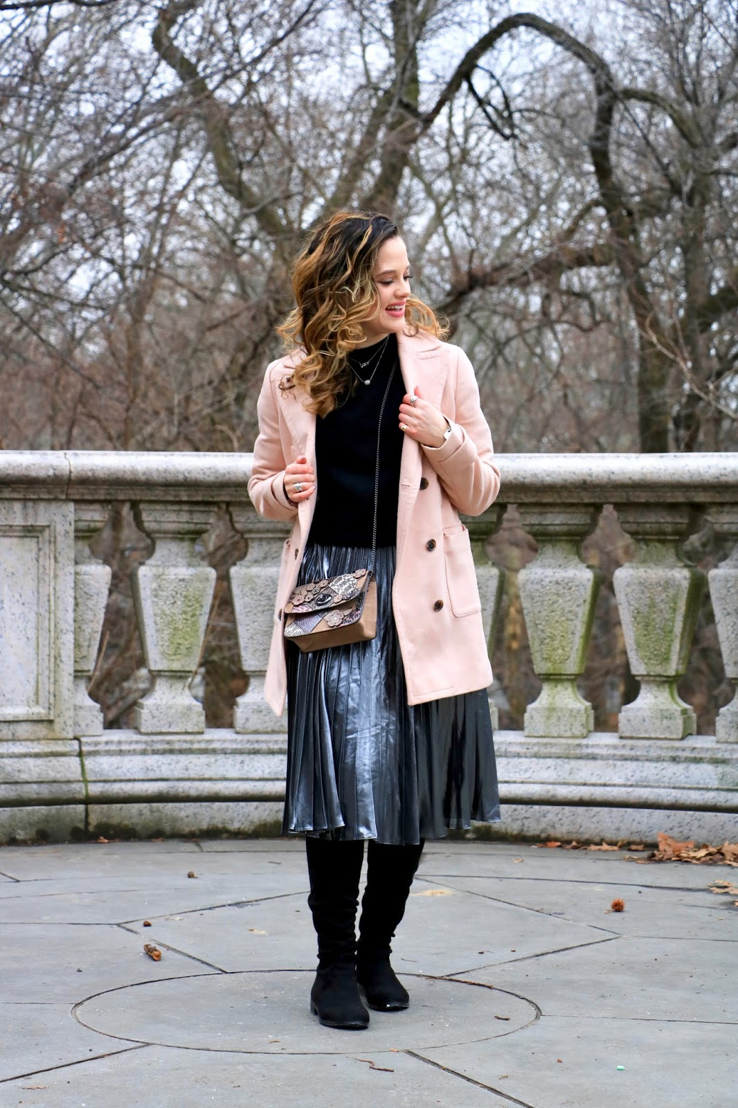 Nyc fashion blogger Kathleen Harper's winter work outfit