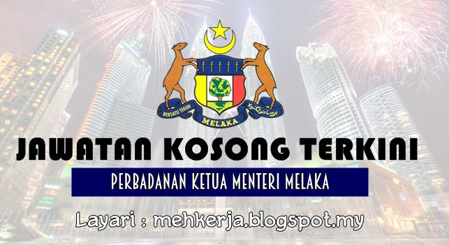 Jawatan Kosong Terkini 2016 di Perbadanan Ketua Menteri Melaka