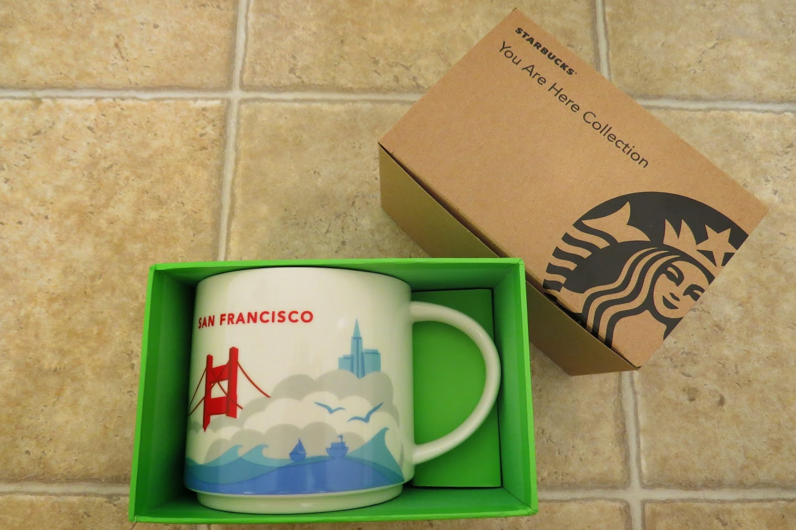 starbucks you are here collection mug san francisco it has grown on me. Black Bedroom Furniture Sets. Home Design Ideas