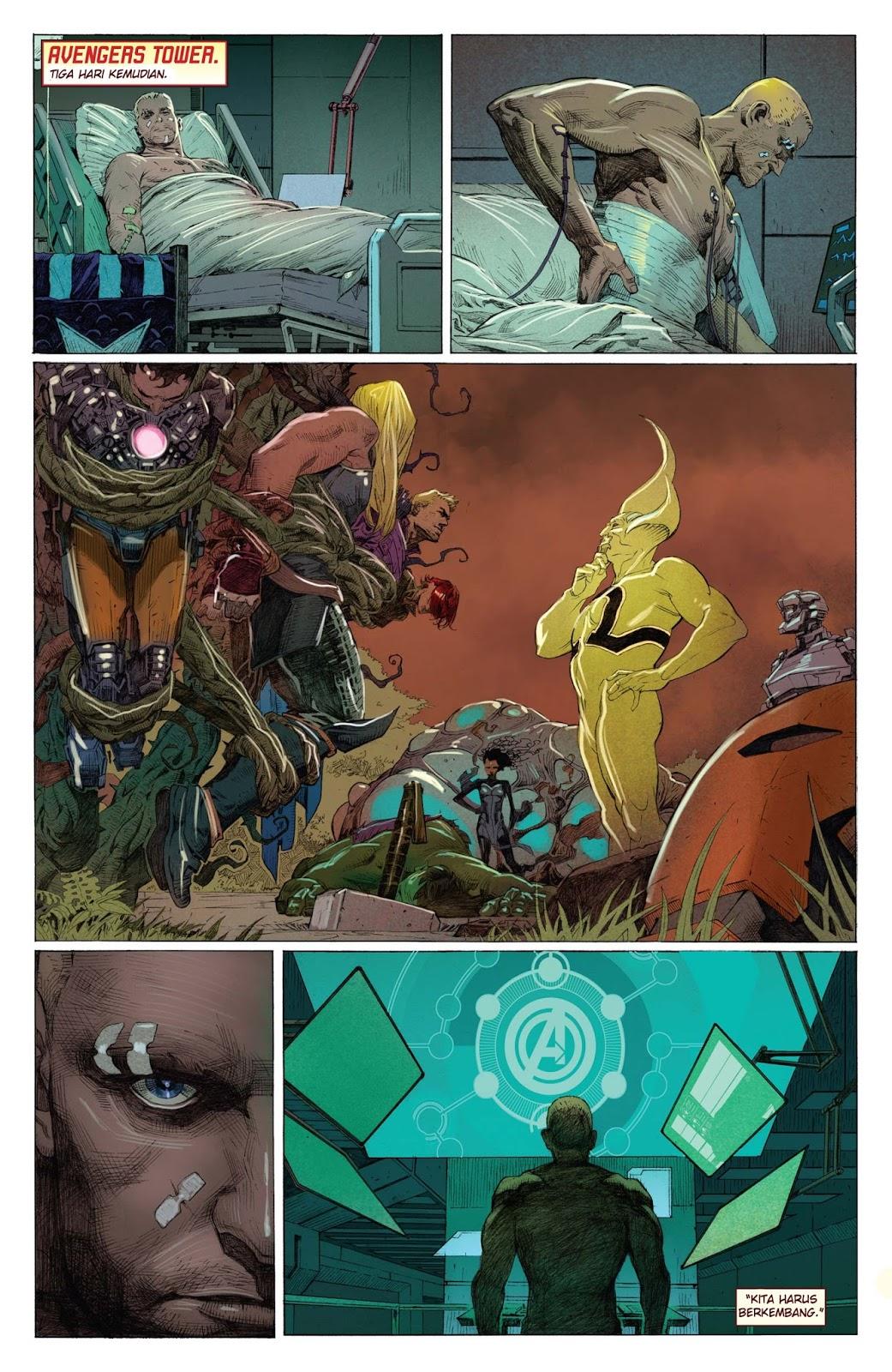 komik the avengers 1 2012  komik pos  baca komik