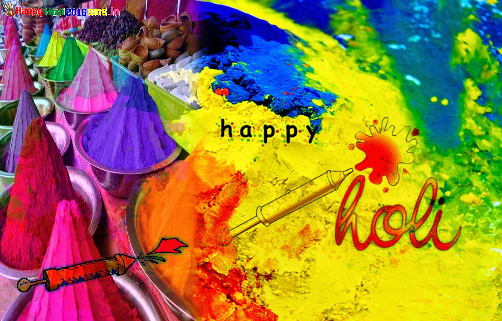 Happy Holi 2017 Beautiful Display Profile Pics For FB Whatsapp Download