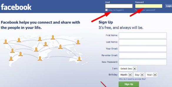 Facebook Full Site Login Computer
