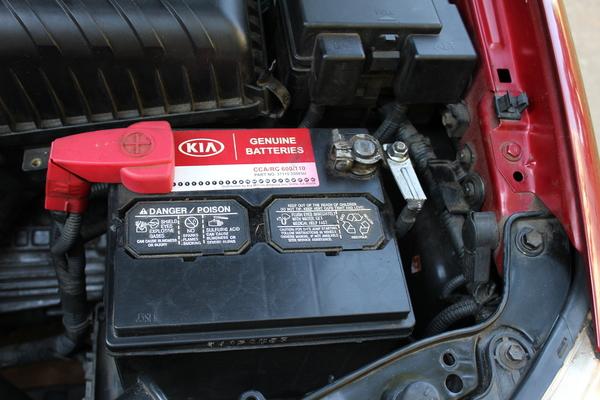 KIA, Spectra, car battery #shop #SummerCarCare #cbias