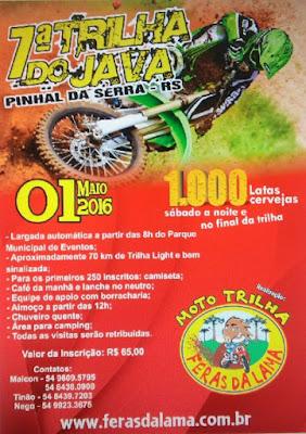 PINHAL DA SERRA-RS, 01 Maio 16
