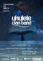 Concierto de Ukulele Clan Band en Maravillas Club