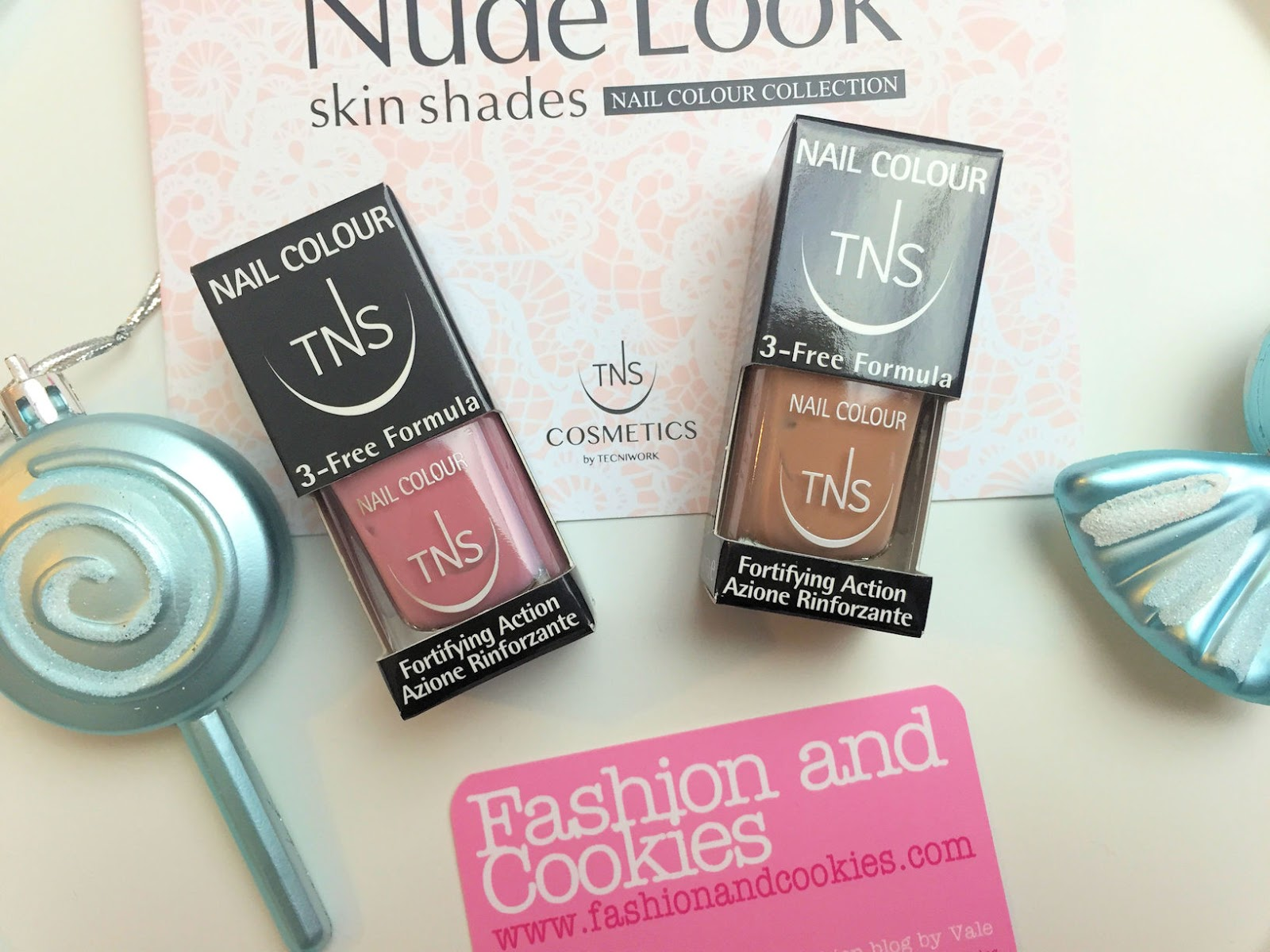 Nude Look skin shades nail polish collection by TNS Cosmetics on Fashion and Cookies beauty blog, beauty blogger review