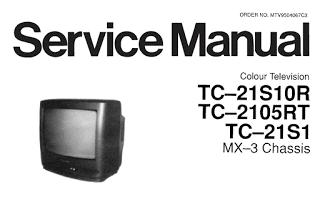 Skema TV Panasonic New Gold TC-21S10R TC-2105RT TC-21S1 TC14S20