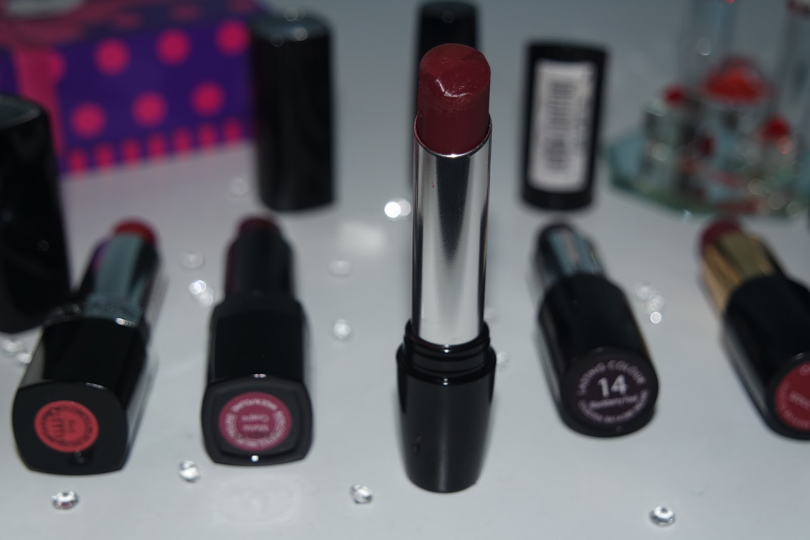Tashika Bailey | My Current Favourite Berry Lipsticks