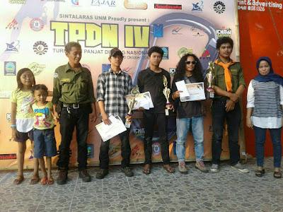 Fadhal Muhammad Harumkan Nama Poltekkes Makassar Di Turnamen Panjat Dinding Nasional