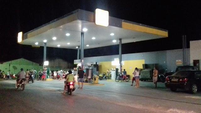 Mucambo-CE: Posto de combustivel é assaltado pela segunda vez em menos de uma semana.