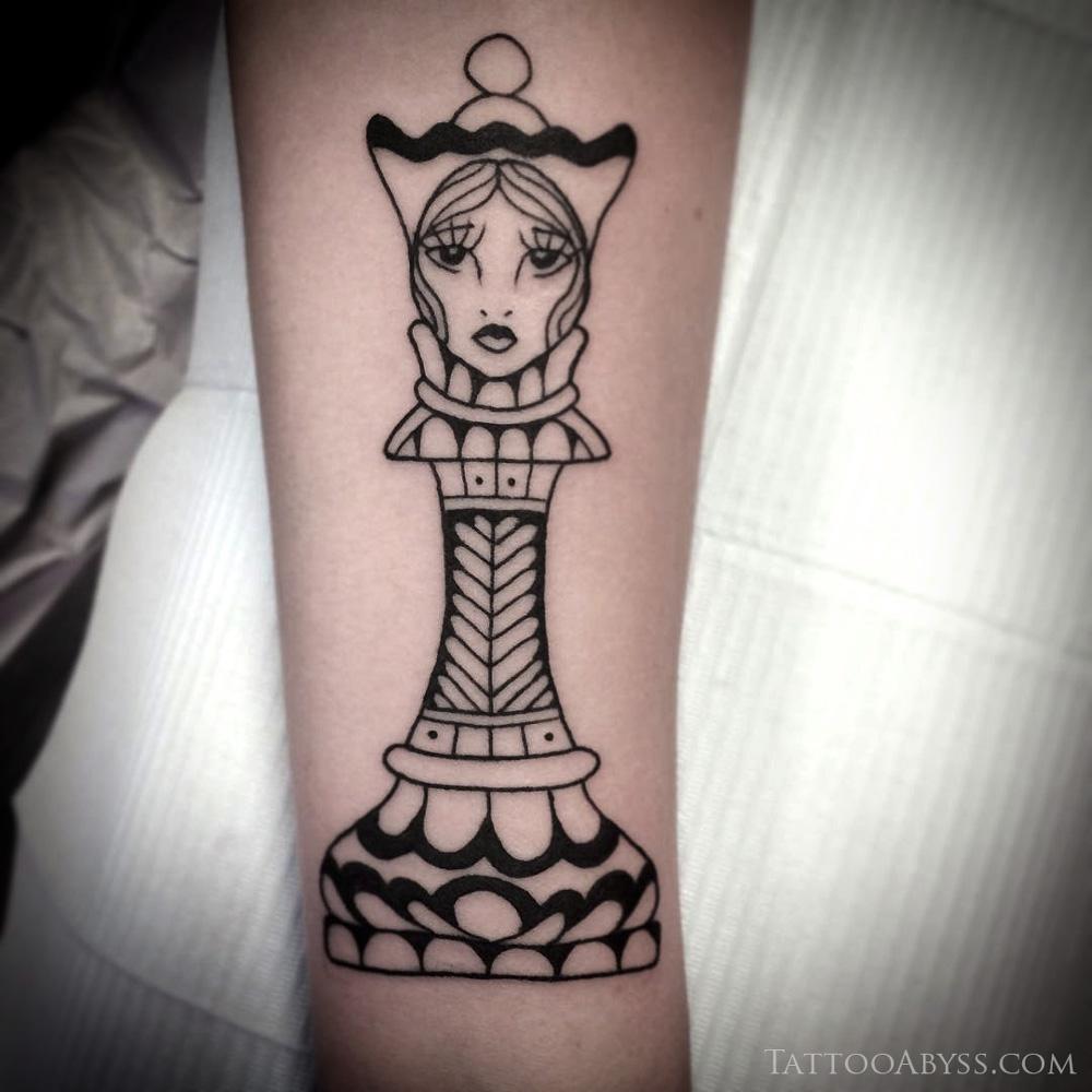 chess tattoo ideas. Black Bedroom Furniture Sets. Home Design Ideas