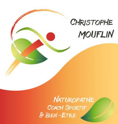 Cration Dun Logo Et Dune Carte De Visite Pour Christophe Mouflin Naturopathe Coach Sportif Bien Tre Muizon 51