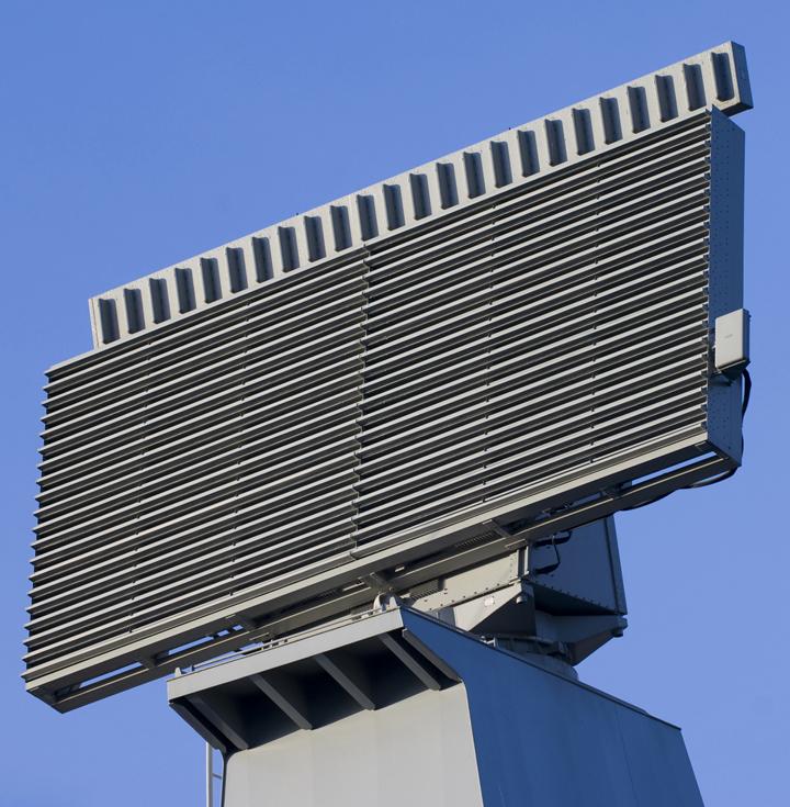 Zumwalt's Volume Search Radar Antenna Demonstrated