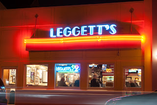 Long Exposure of the front of Leggett's Sand Bar in Manasquan, New Jersey