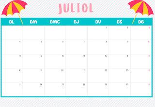Calendari juliol