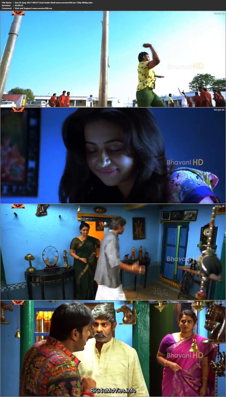 Don Ki Jung 2017 Dual Audio UnCUT Hindi Telugu HDRip 720p at movies500.me