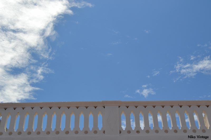 cielo de Menorca, fotografia, azul