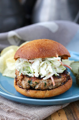 Grilling Bucket List - Hawaiian Style Pork Burger #Celebrate365