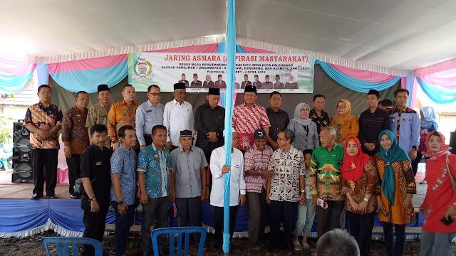 Anggota DPRD Kota Palembang Dapil 1 Jaring Aspirasi Masyarakat di Kelurahan Kemuning