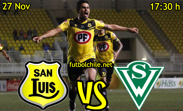 Ver stream hd youtube facebook movil android ios iphone table ipad windows mac linux resultado en vivo, online: San Luis vs Santiago Wanderers