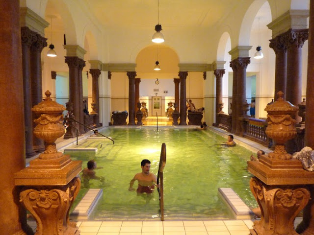 História dos banhos termais Széchenyi