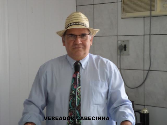 Resultado de imagem para IMAGEM DO VEREADOR CABECINHA