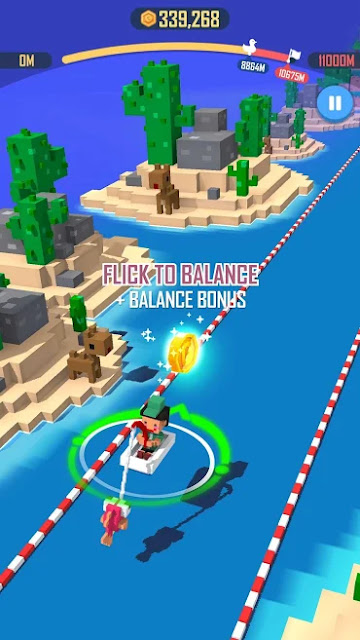 Jump Rides: Crazy Boat APK