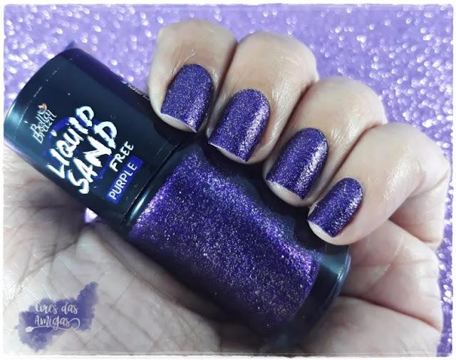 Purple Bella Brazil Nailpolish Esmalte Roxo Cores das Amigas
