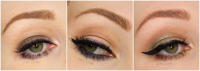 Darling Girl Eyeshadows - He Slimed Me, Married to the Macabre, Just Harried, Provoke & Tiny Dancer Swatches & Review